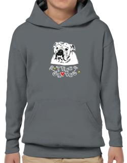 American Bulldog True Love Hoodie-Boys