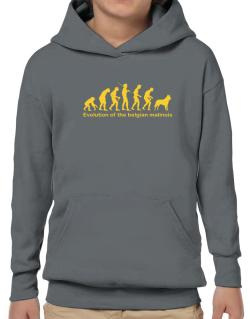 Evolution Of The Belgian Malinois Hoodie-Boys