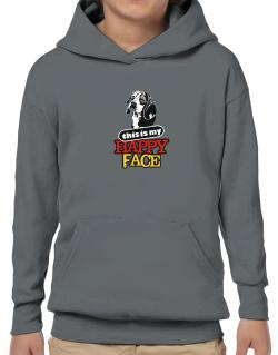 Happy Face Beagle Hoodie-Boys