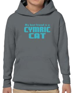 My Best Friend Is A Cymric Hoodie-Boys