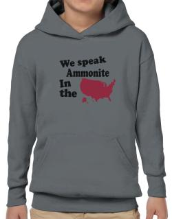 Ammonite Is Spoken In The Us - Map Hoodie-Boys