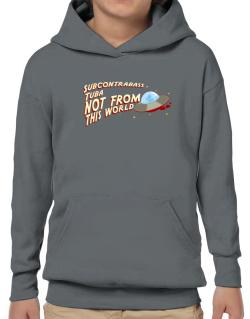 Subcontrabass Tuba Not From This World Hoodie-Boys
