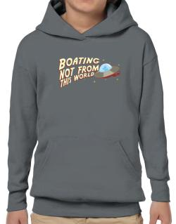 Boating Not From This World Hoodie-Boys