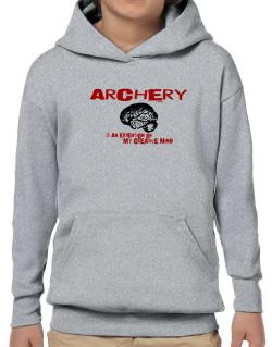 Archery Is An Extension Of My Creative Mind Hoodie-Boys