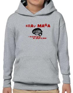 Krav Maga Is An Extension Of My Creative Mind Hoodie-Boys