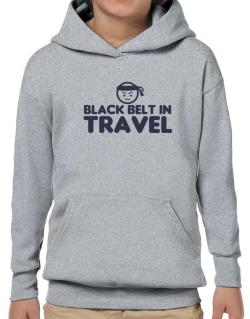 Black Belt In Travel Hoodie-Boys