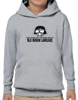 I Can Teach You The Dark Side Of Old Nubian Language Hoodie-Boys