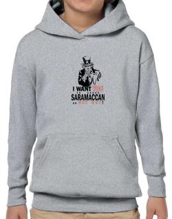 I Want You To Speak Saramaccan Or Get Out! Hoodie-Boys
