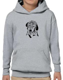 Labradoodle Face Special Graphic Hoodie-Boys