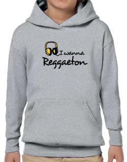 I Wanna Reggaeton - Headphones Hoodie-Boys