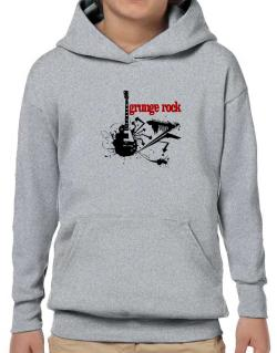 Grunge Rock - Feel The Music Hoodie-Boys