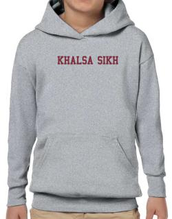 Khalsa Sikh - Simple Athletic Hoodie-Boys