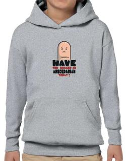 Have You Hugged An Abecedarian Today? Hoodie-Boys