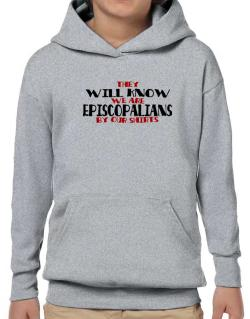They Will Know We Are Episcopalians By Our Shirts Hoodie-Boys