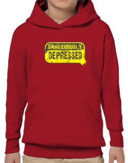 Dangerously Depressed Hoodie-Boys