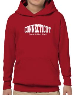 State Nickname Connecticut Hoodie-Boys