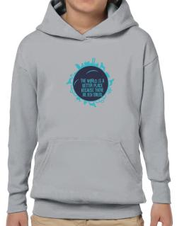 Better Place Irish Terriers Hoodie-Boys