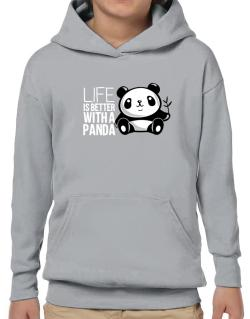 Poleras Con Capucha de Life is better with a panda