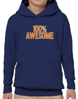 100% Awesome Hoodie-Boys