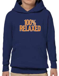 100% Relaxed Hoodie-Boys