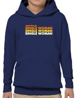 Apple Single Woman Hoodie-Boys