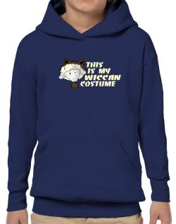 This Is My Wiccan Costume Hoodie-Boys