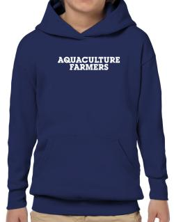Aquaculture Farmers Simple Hoodie-Boys