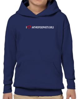 I love Anthroposophists Girls  Hoodie-Boys