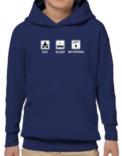 Eat sleep Skydiving Hoodie-Boys