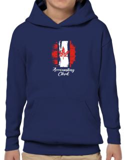 Accounting Clerk - Canada  Hoodie-Boys