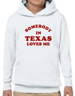Somebody Texas Hoodie-Boys