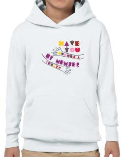 Have You Hugged A Hy Member Today? Hoodie-Boys