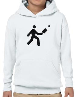 Pickleball Stickman Hoodie-Boys