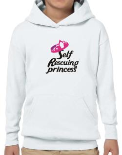 Self Rescuing Princess  Hoodie-Boys