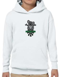 Koalafied for a hug Hoodie-Boys