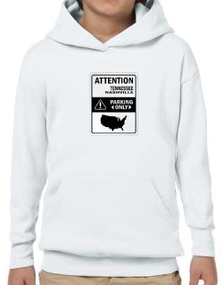 Attention Nashville Parking Only - Map  Hoodie-Boys