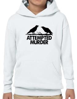 Crows Attempted Murder Hoodie-Boys