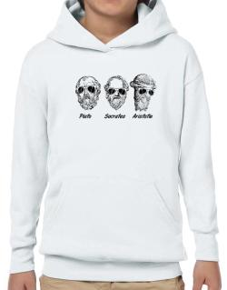 Socrates Old Funny Philosophy Hoodie-Boys