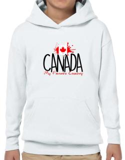 Canada my favorite country Hoodie-Boys