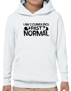 I am two guinea pigs past normal Hoodie-Boys