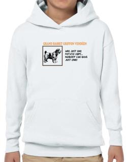 Grand Basset Griffon Vendéen are just like potato chips Hoodie-Boys
