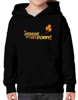 My Andean Condor Is Very Funny Hoodie-Girls