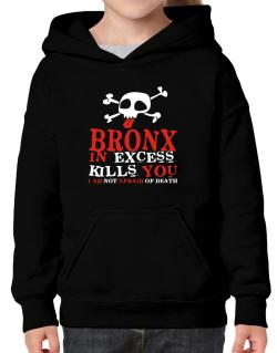 Bronx In Excess Kills You - I Am Not Afraid Of Death Hoodie-Girls