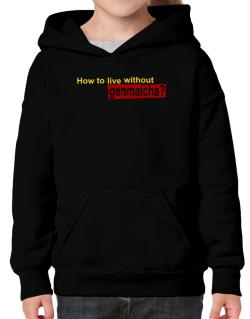 How To Live Without Genmaicha ? Hoodie-Girls