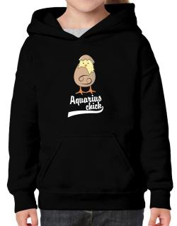 Aquarius Chick Hoodie-Girls