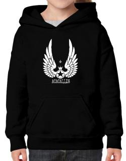 Acacallis - Wings Hoodie-Girls