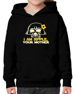 I Am Apple, Your Mother Hoodie-Girls