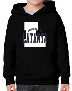 Property Of Latanya Hoodie-Girls