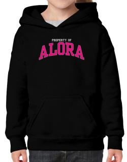 Property Of Alora Hoodie-Girls
