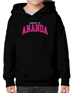 Property Of Ananda Hoodie-Girls